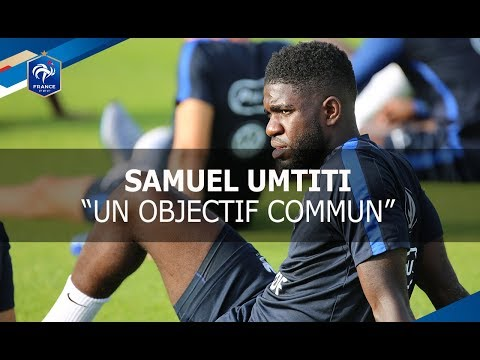 Samuel Umtiti: interview avant France - Pays-Bas