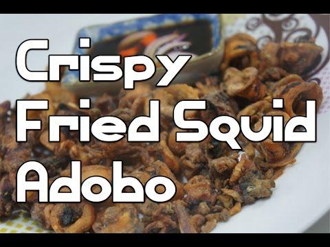 Paano magluto Crispy Fried Squid Adobo recipe – Tagalog Pinoy Filipino