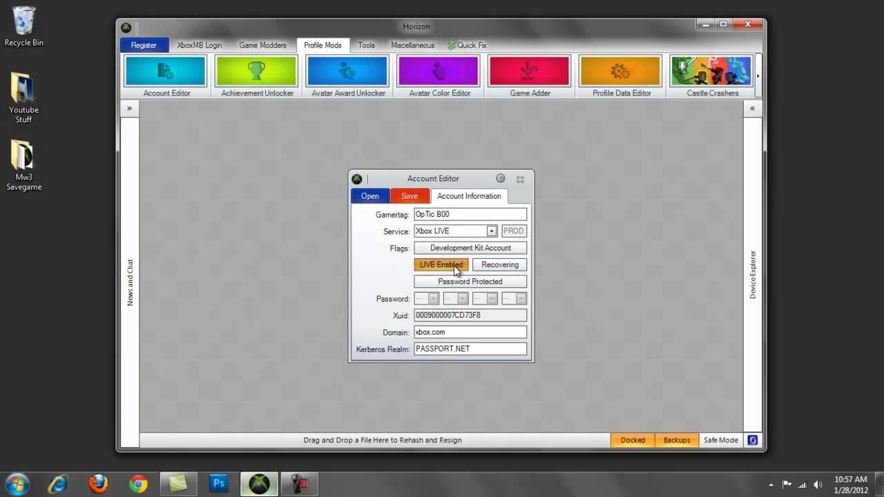 xbox360 how to delete profiles