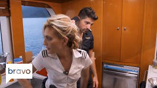 Below Deck: Kate Chastain Gets An Eyeful Of This Charter Guest (Season 6, Episode 5) | Bravo