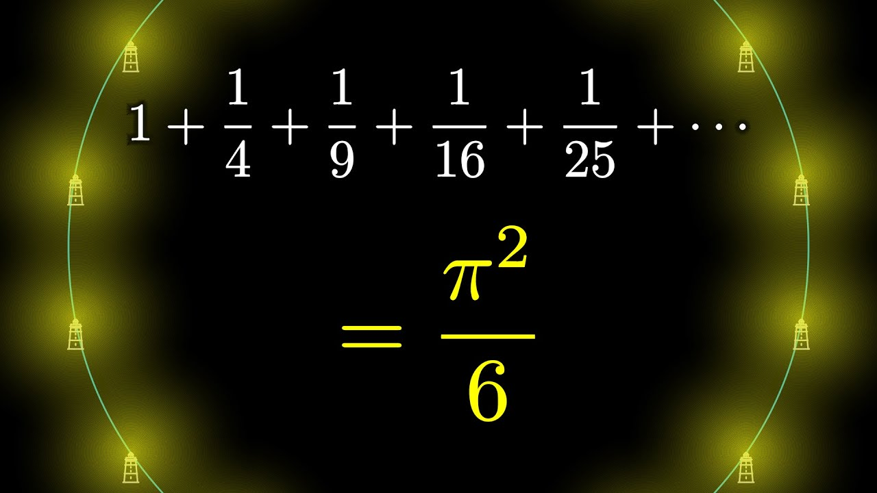 Download Why is pi here?  And why is it squared?  A geometric answer to the Basel problem