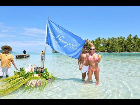 PAUL GAUGUIN cruise Tahiti | Bora Bora | Morea| Papetee | Huanee and more