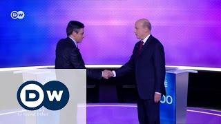 Кандидаты в президенты Франции поспорили о Путине и Крыме