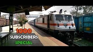 1000 Subscription Special : Best Of HIGH SPEED Tracksounds at Bhilai Nagar [Indian Railways] thumbnail