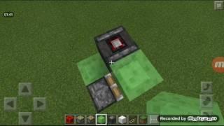 Как сделать настоящий летающий самолёт без модов в Minecraft Pocket Edition на версии 0.15.0(, 2016-07-03T13:59:27.000Z)