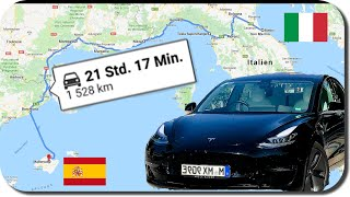Mein Teuerster Tesla Roadtrip - 1500 km Nach Mallorca