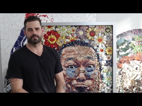 Meet Jason Dussault And His Contemporary Mosaic Art