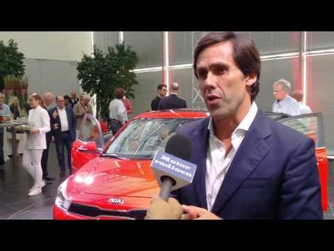 KIA Rio: First World Presentation - Interview Arthur Martins