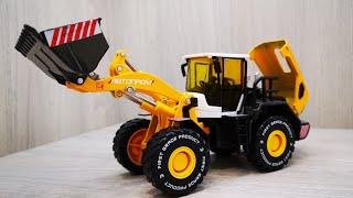 Экскаватор игрушка - Автопром - Распаковка