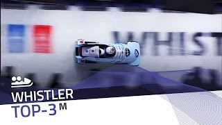 Whistler | 2-Man Bobsleigh Top-3 (Race 2) | IBSF Official