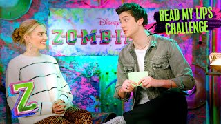 Read My Lips Challenge Milo Edition! 💋| Part 1 of 2 | ZOMBIES 2 | Disney Channel