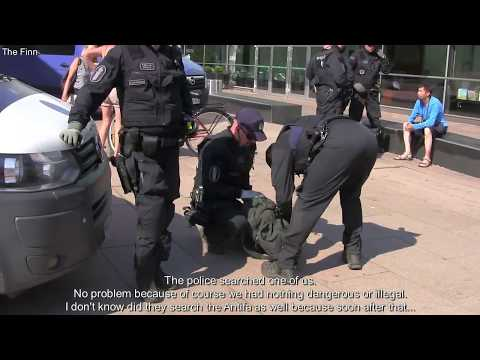 How Antifa was defeated in Helsinki during Trump Putin summit
