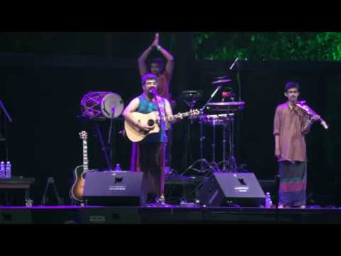 "RWMF 2018 -- Raghu Dixit Project, audience participation song ""Lokada Kaalaji"","
