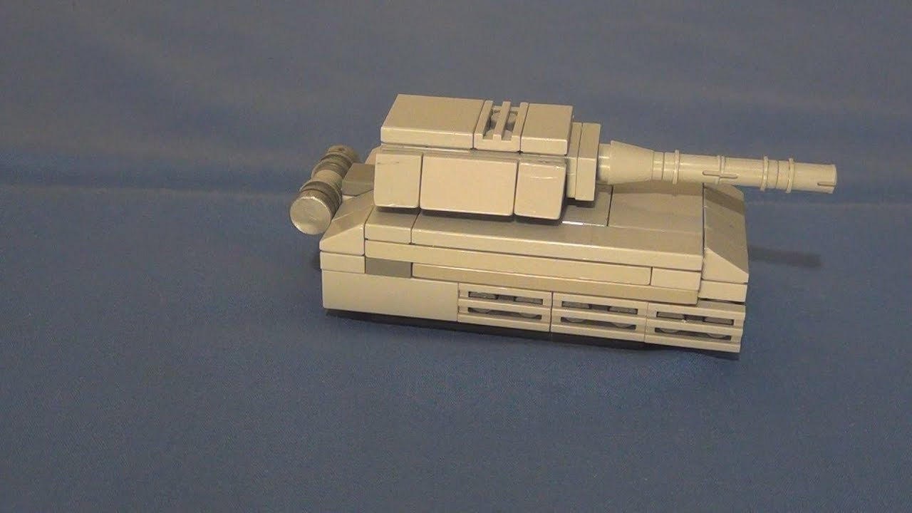 Micro Brick Battle Panzer VIII version 2 instructions