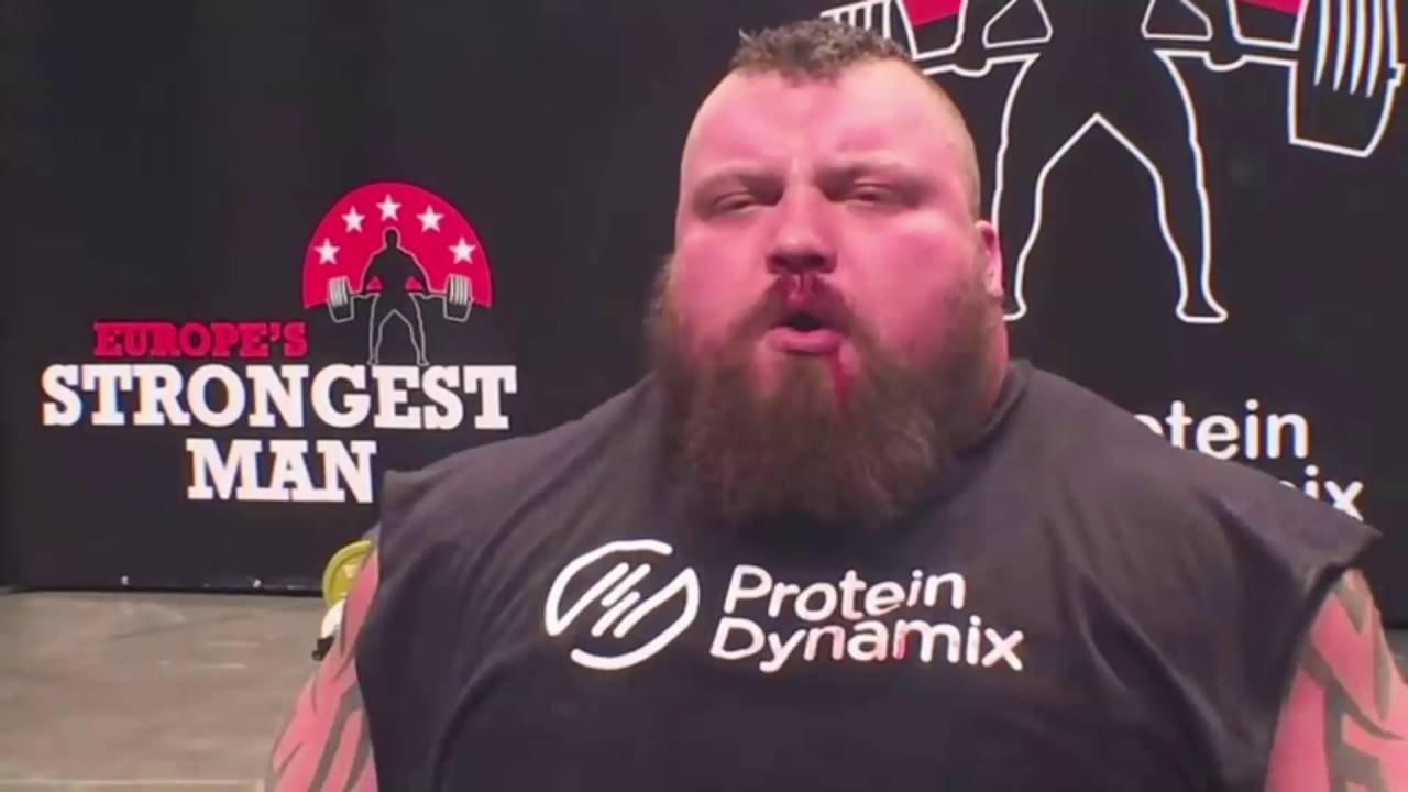 Strongman Eddie Hall deadlift 500kg-The World Record 2016 (1102 31lbs)