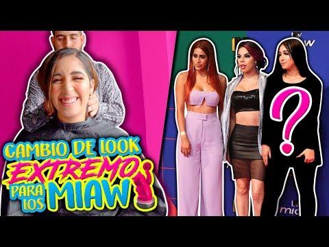 Cambio de look EXTREMO para los Premios MIAW!