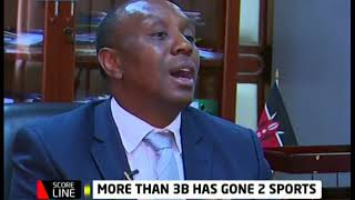PS Kaberia talk about the state of Kenyan sports and wrangles in sport\'s ministry and FKF