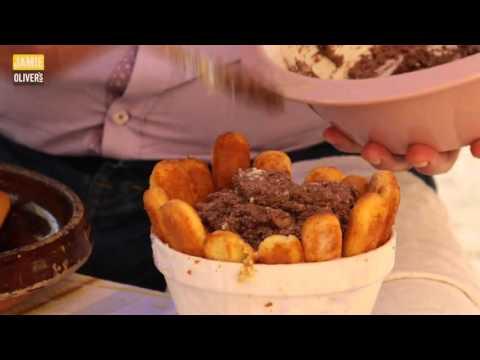 Джейми Оливер.  Итальянский сладкий десерт Дженнаро.