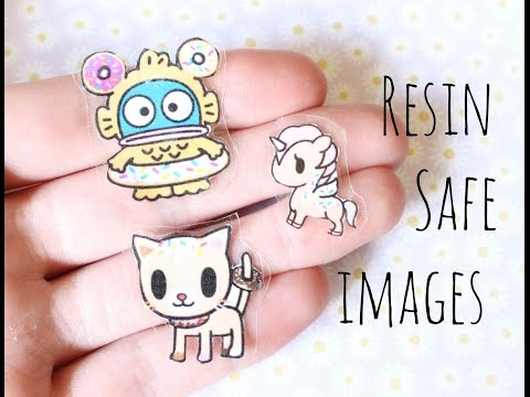 DIY: Resin Safe Images & Stickers