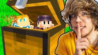 Jak Długo Mogę Żyć W SKRZYNCE Widza Zanim Zauważy? - Minecraft Extreme !
