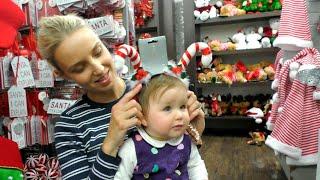 Купуємо Ялинкові Іграшки!! Готуємося до Різдва у НЗ! Karolina goes Christmas decoration shopping