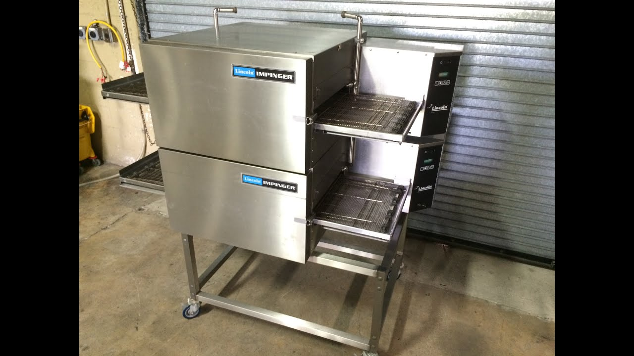 conveyor mini impinger pizza oven product lincoln