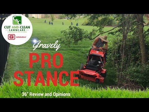"Gravely Pro-Stance 36"" New Mower ► Review and Opinions"