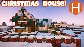 Christmas Eve House; Christmas Village Part 1;  Minecraft Tutorial