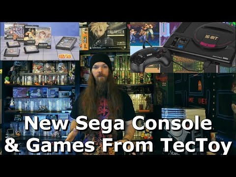New Sega Console & Games From TecToy - AlphaOmegaSin