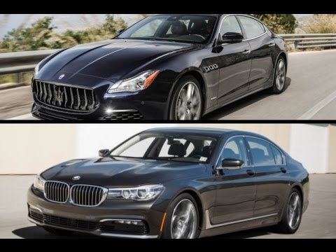 2017 maserati quattroporte gts granlusso vs 2016 bmw 740i. Black Bedroom Furniture Sets. Home Design Ideas