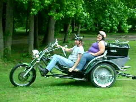 vw trike wheelie youtube