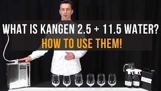 Benefits of Kangen Water 2.5 pH & 11.5 pHh