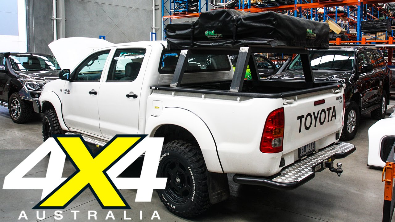 Project Toyota Hilux Build Part 5 Ironman 4x4 4x4