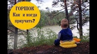 Как научить ребенка проситься и садиться писать в горшок