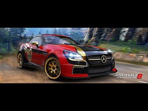 Asphalt 8 mb slk 55 amg special edition cup river fort for Mercedes benz slk 55 amg special edition