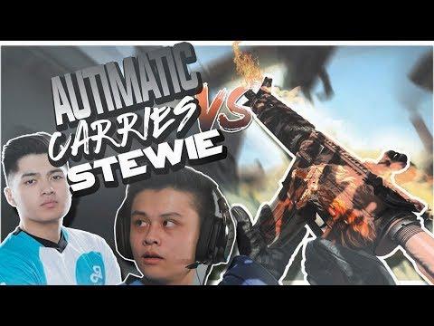 Autimatic INSANE Carry vs Stewie in Rank S 10/2/17