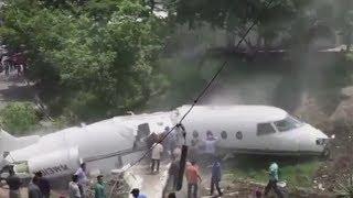 Live Plane crash caught in camera-Airplane crash