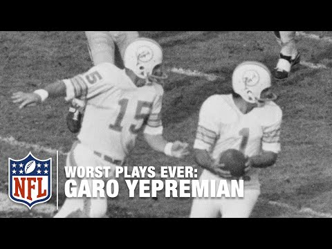 Garo Yepremian Epic Super Bowl Fail! | NFL's Worst Plays Ever