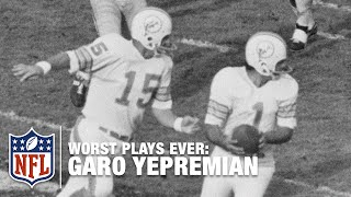 Dolphins Kicker Throws Like a Kicker! | NFL's Worst Plays Ever