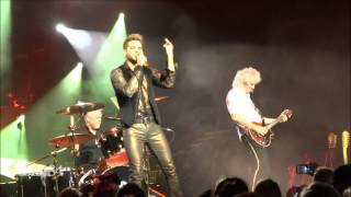 Queen ft. Adam Lambert - Under Pressure - New York City, NY 7/17/14