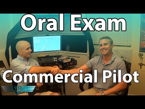Commercial Pilot Oral Exam | FAA Checkride Prep