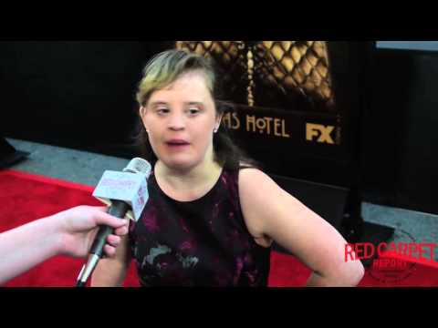 Jamie Brewer At FX's American Horror Story: Hotel World Premiere #AHSHotel #AHSRedCarpet
