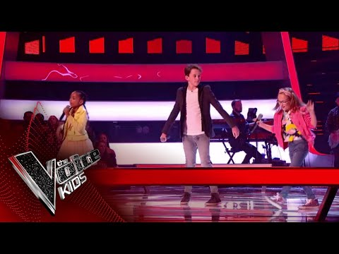 Brooke Charlie & Jennifer Perform 'Don't Be So Hard On Yourself': Battles 2 | The Voice Kids UK 2018