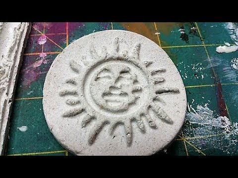 Art Hack Paper mache clay embellishments