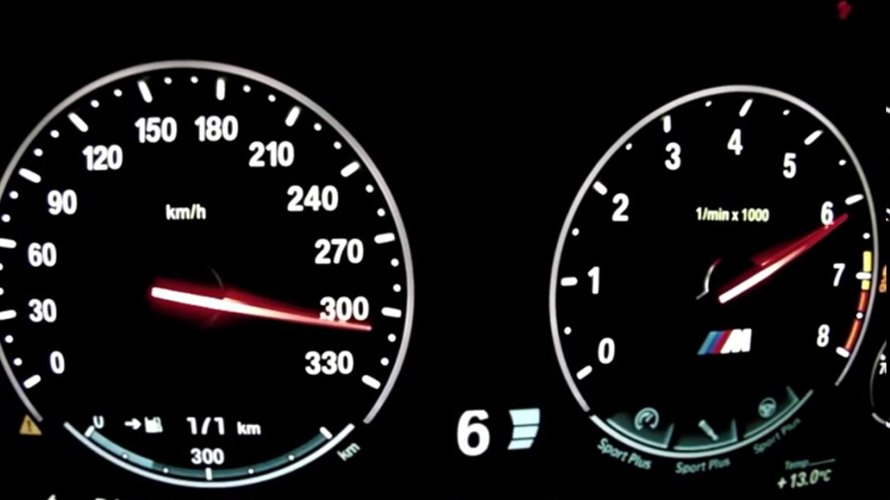 2017 Car Speed Test BMW M5 F10 Acceleration - YouTube