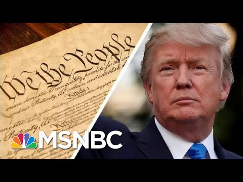 Trump Says The .Phony. Constitution .Doesn't Matter. Because He's .Rich.