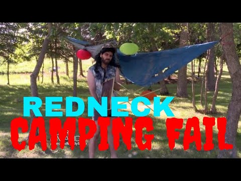 Marc VS Nature - Redneck Camping Fail