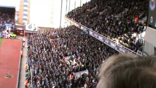 West ham fans - Blowing bubbles