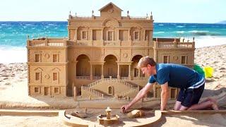 Top 10 MOST INSANE Sandcastles EVER BUILT