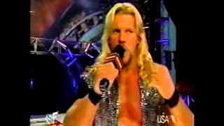 Chris Jericho Insults Triple H/Stephanie Mcmahon Raw 2000